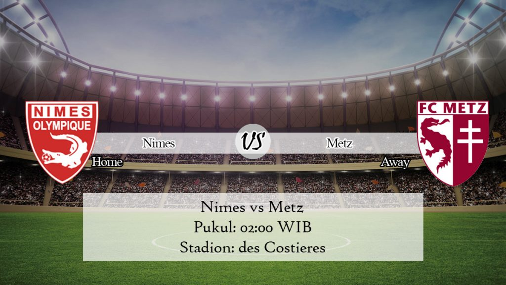 Prediksi Bola Nimes vs Metz 1 Desember 2019