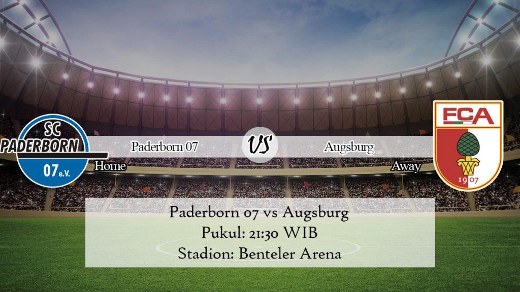 Prediksi Bola Paderborn 07 vs Augsburg 9 November 2019