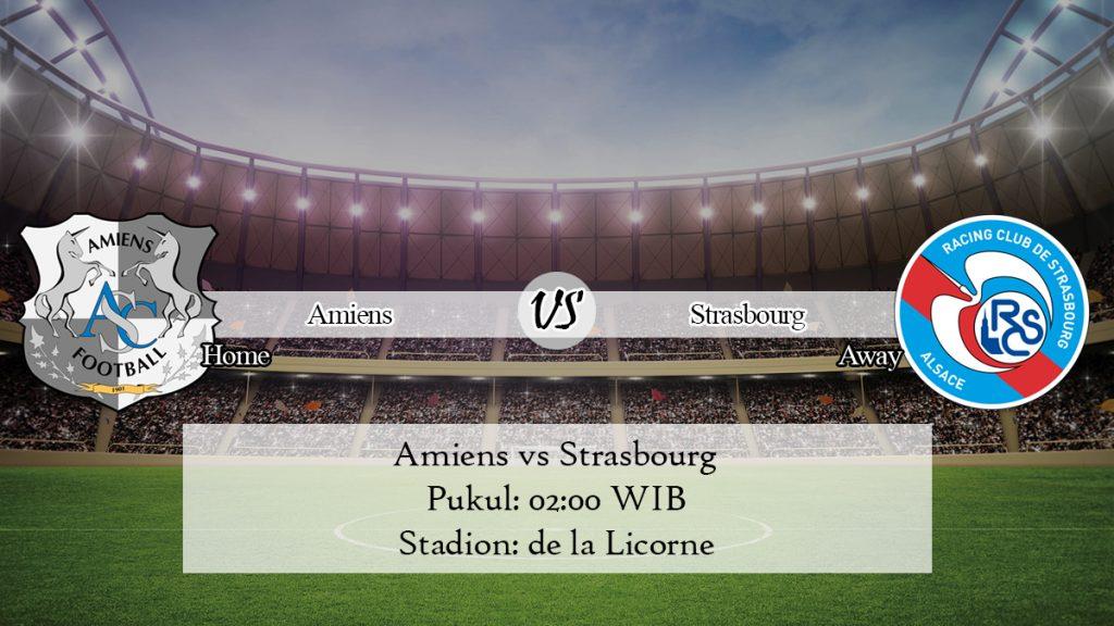 Prediksi Jitu Amiens vs Strasbourg 24 November 2019