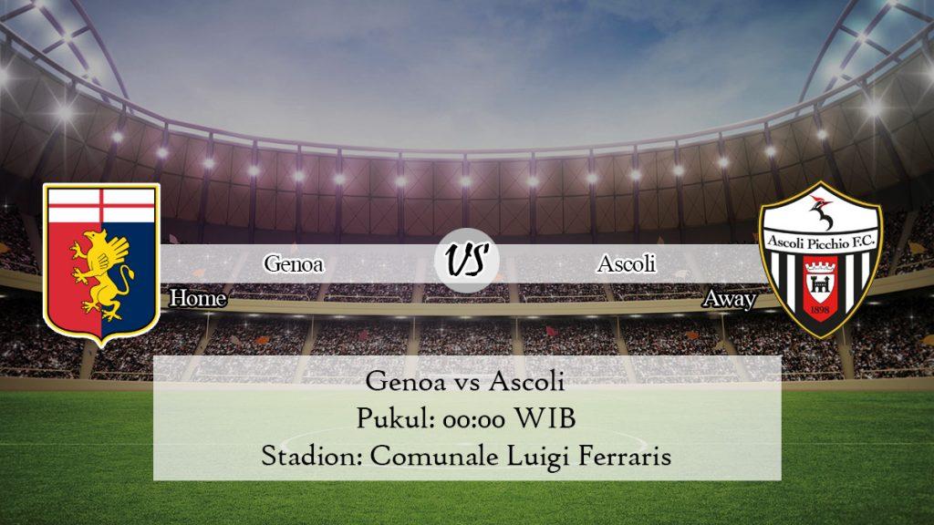 Prediksi Jitu Genoa vs Ascoli 4 Desember 2019