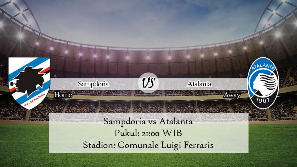 Prediksi Jitu Sampdoria vs Atalanta 10 November 2019