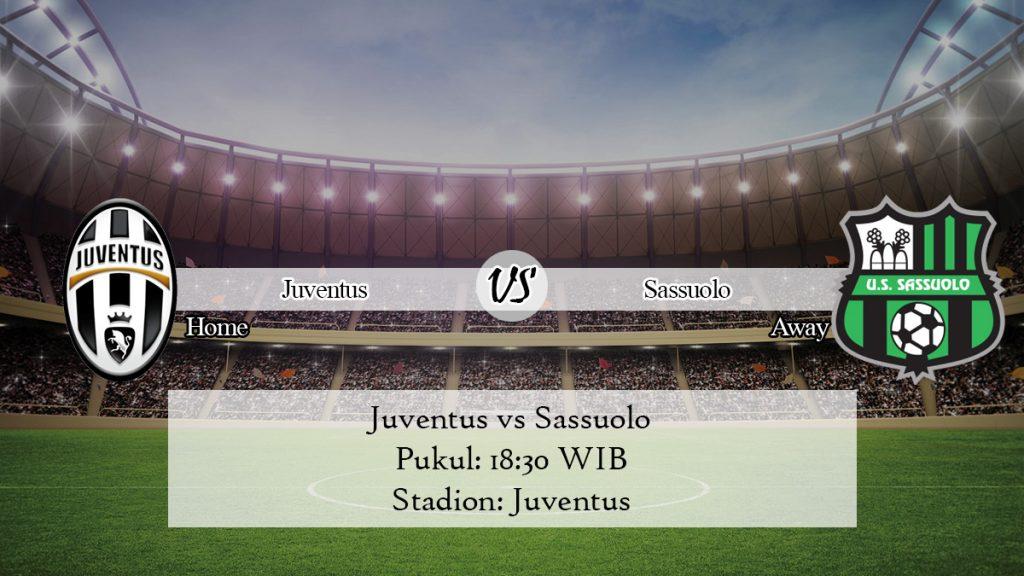Prediksi Juventus vs Sassuolo 1 Desember 2019