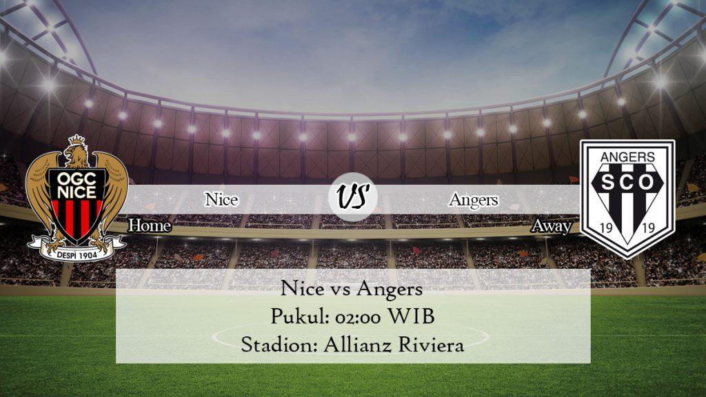 Prediksi Nice vs Angers 1 Desember 2019