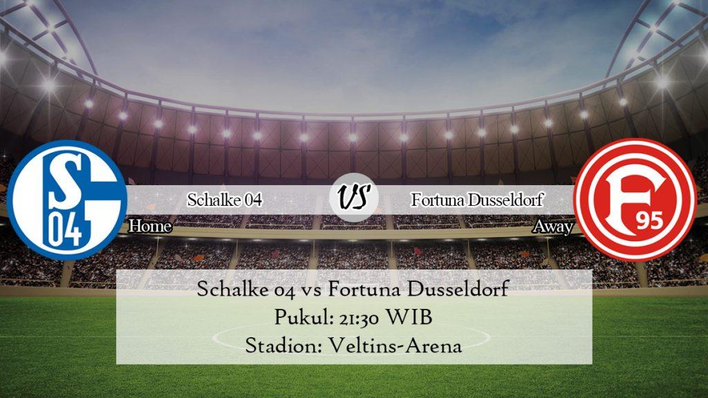 Prediksi Schalke 04 vs Fortuna Dusseldorf 9 November 2019