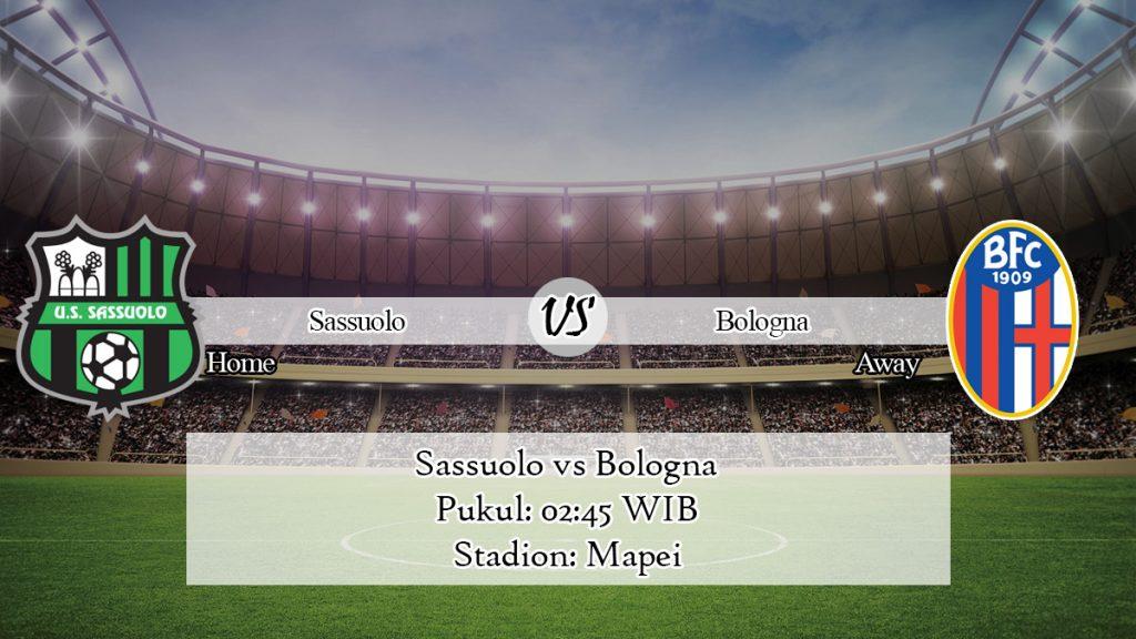 Prediksi Skor Jitu Sassuolo vs Bologna 9 November 2019