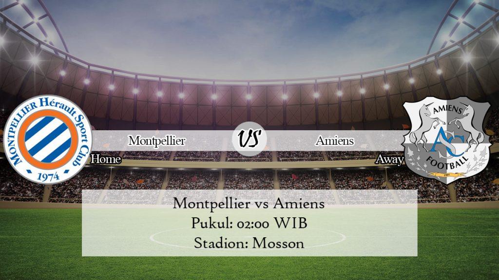 Prediksi Skor Montpellier vs Amiens 1 Desember 2019