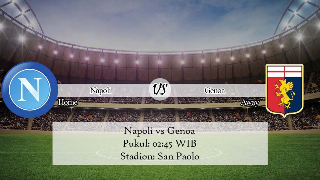 Prediksi Skor Napoli vs Genoa 10 November 2019