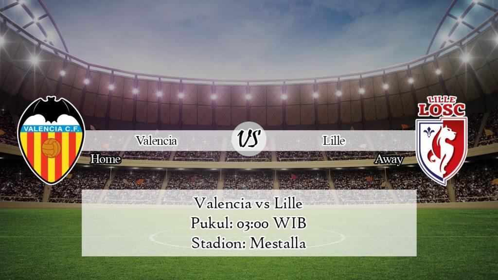 Prediksi Skor Valencia vs Lille 6 November 2019