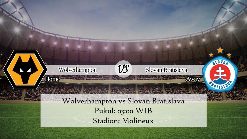 Prediksi Skor Wolverhampton vs Slovan Bratislava 8 November 2019