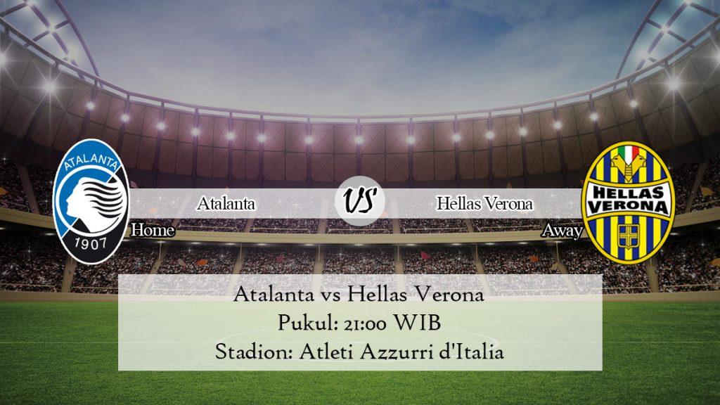 Prediksi Bola Atalanta vs Hellas Verona 7 Desember 2019