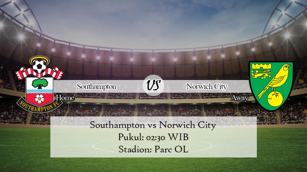 Prediksi Jitu Southampton vs Norwich City 5 Desember 2019