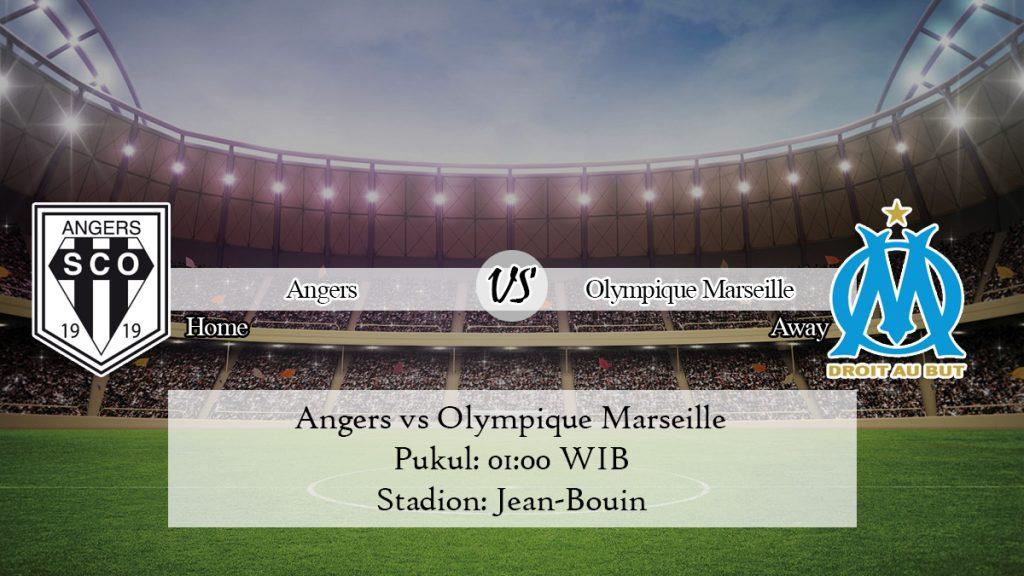 Prediksi Skor Angers vs Olympique Marseille 4 Desember 2019