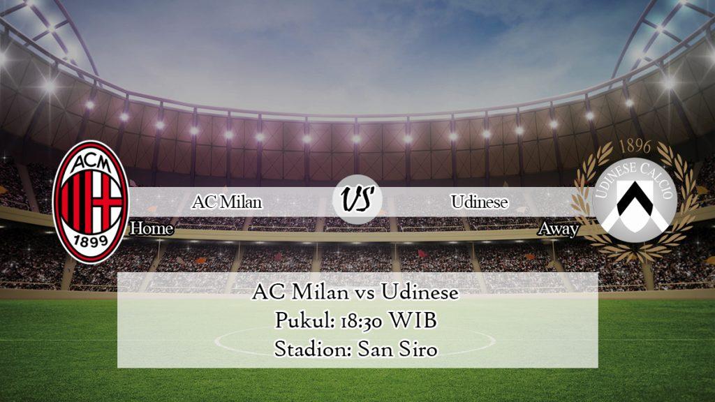 Prediksi AC Milan vs Udinese 19 Januari 2020