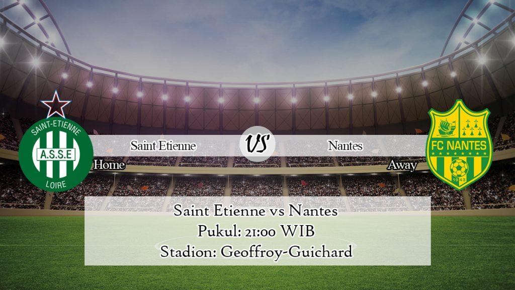 Prediksi Bola Saint Etienne vs Nantes 12 Januari 2020