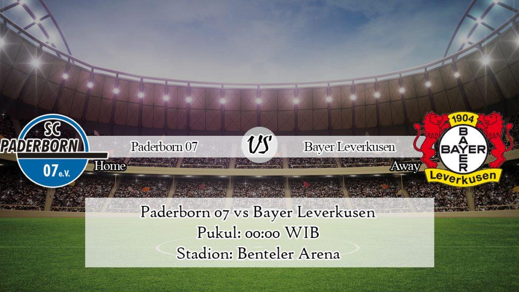 Prediksi Jitu Paderborn 07 vs Bayer Leverkusen 20 Januari 2020