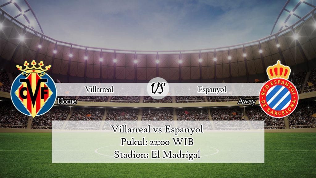 Prediksi Jitu Villarreal vs Espanyol 19 Januari 2020