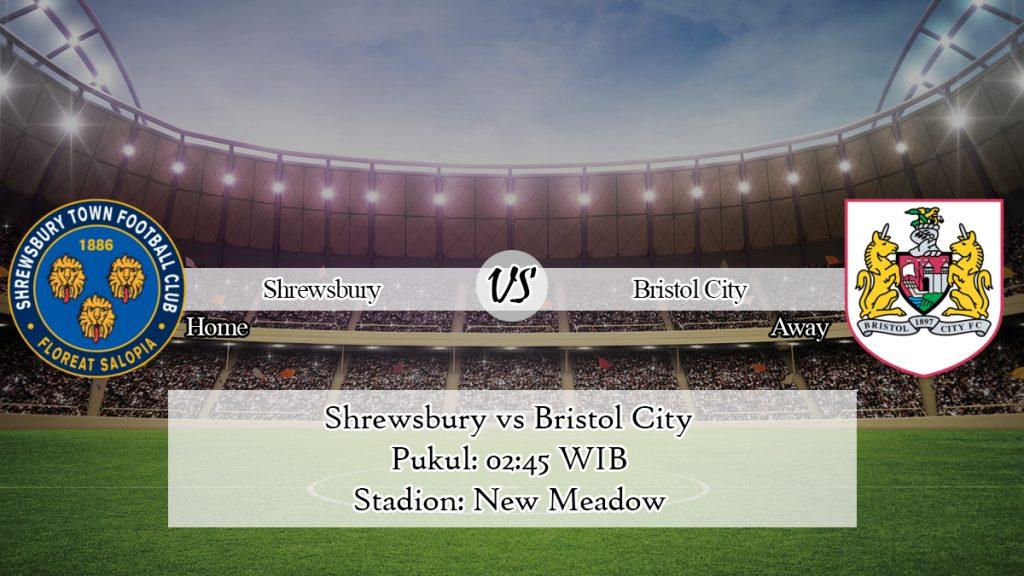 Prediksi Shrewsbury vs Bristol City 15 Januari 2020