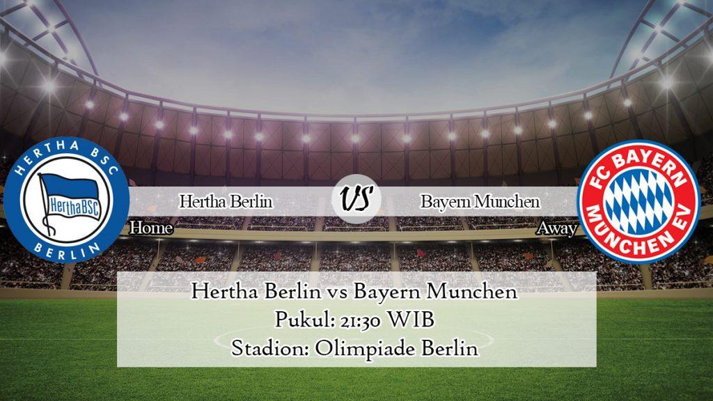 Prediksi Skor Hertha Berlin vs Bayern Munchen 19 Januari 2020