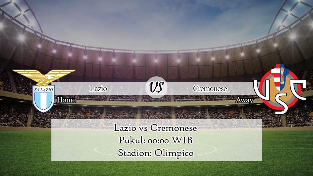 Prediksi Skor Lazio vs Cremonese 15 Januari 2020