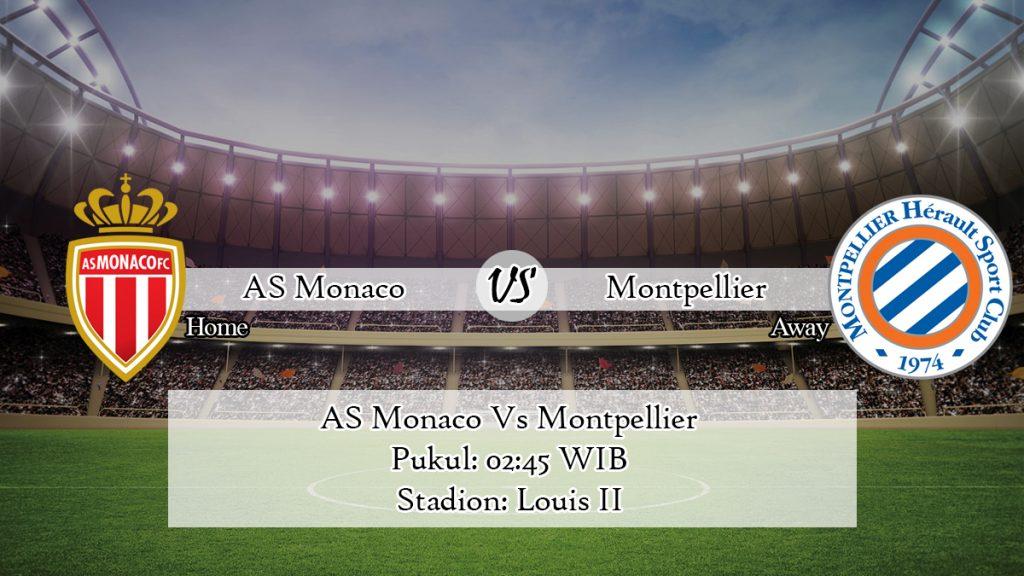 Prediksi AS Monaco Vs Montpellier 15 Februari 2020