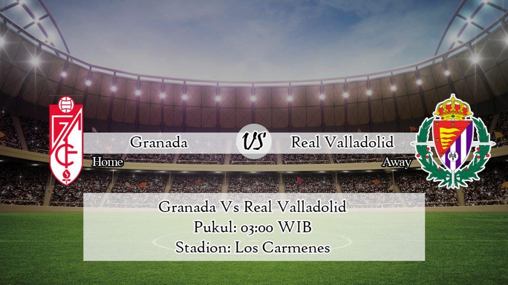 Prediksi Skor Granada Vs Real Valladolid 15 Februari 2020