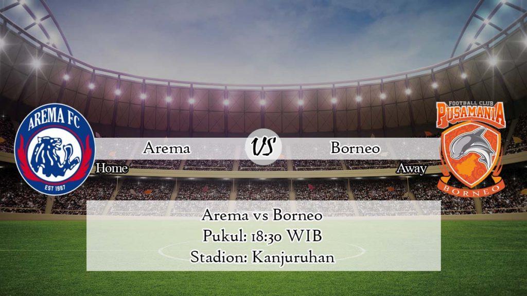 Prediksi Arema Vs Borneo 3 April 2020