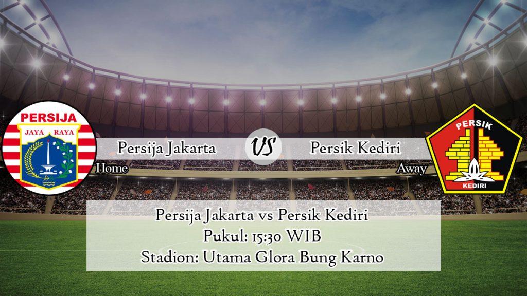 Prediksi Bola Persija Jakarta vs Persik Kediri 4 April 2020