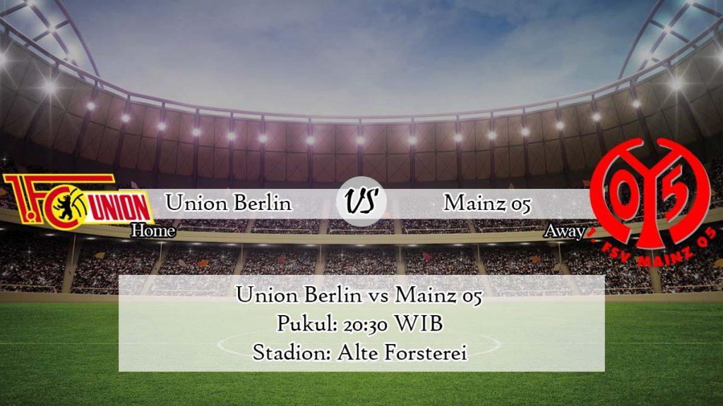 Prediksi Bola Union Berlin vs Mainz 05 4 April 2020