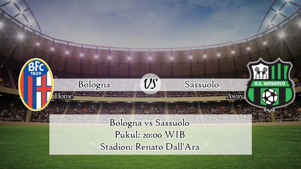 Prediksi Bologna vs Sassuolo 11 April 2020