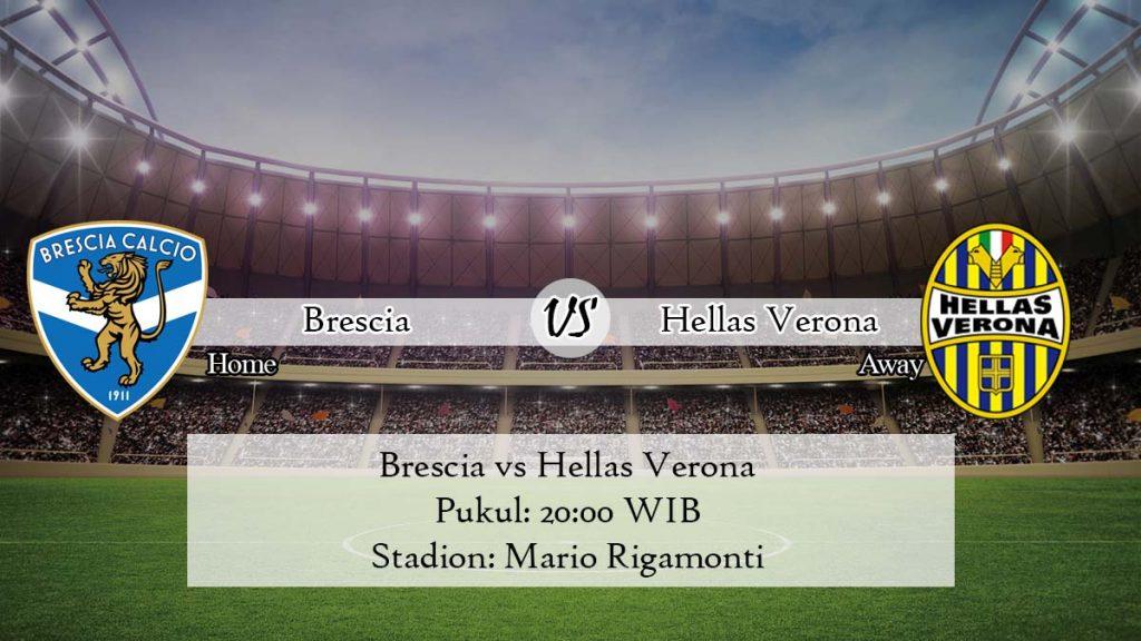 Prediksi Jitu Brescia vs Hellas Verona 5 April 2020