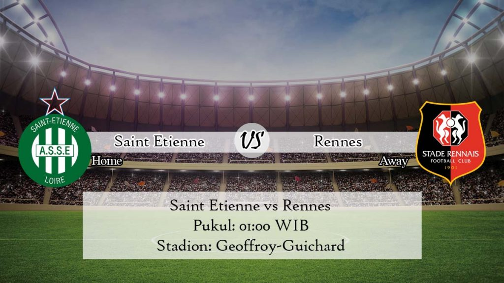 Prediksi Jitu Saint Etienne vs Rennes 12 April 2020