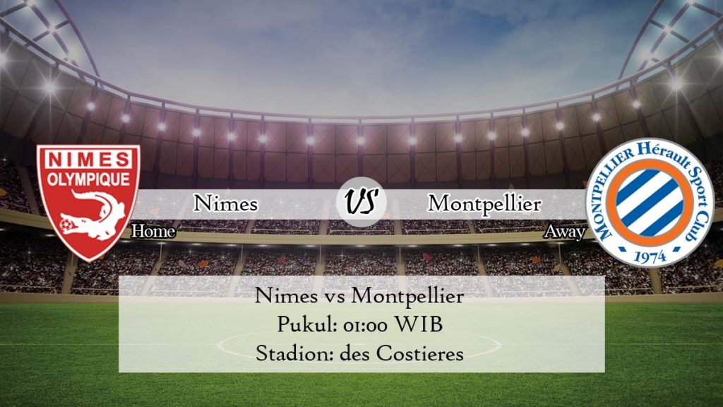 Prediksi Nimes vs Montpellier 12 April 2020