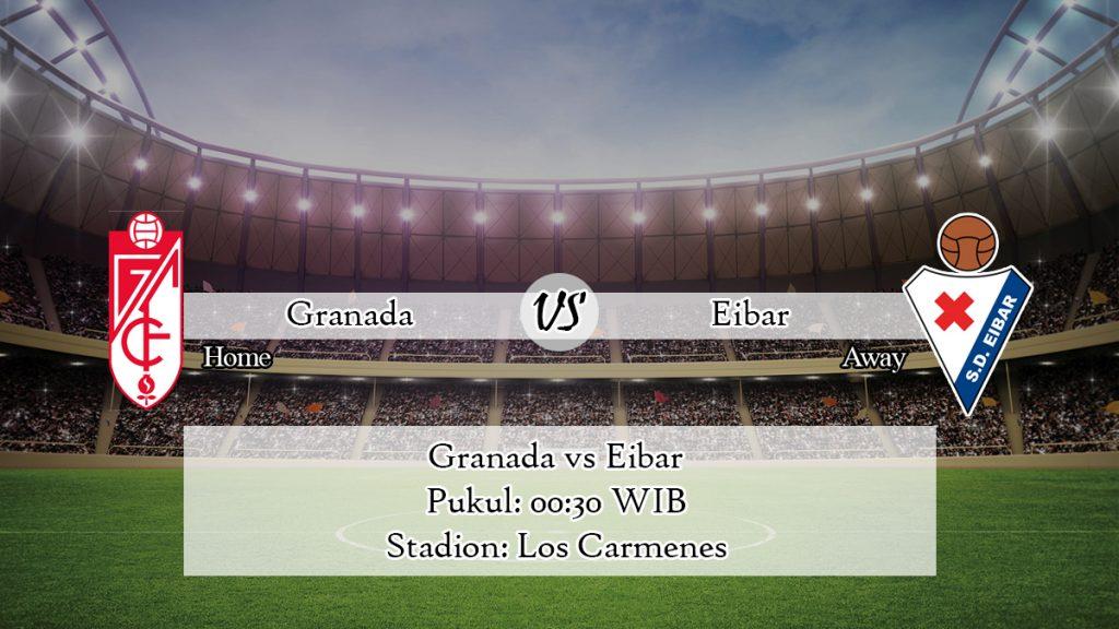 Prediksi Skor Granada vs Eibar 29 Juni 2020