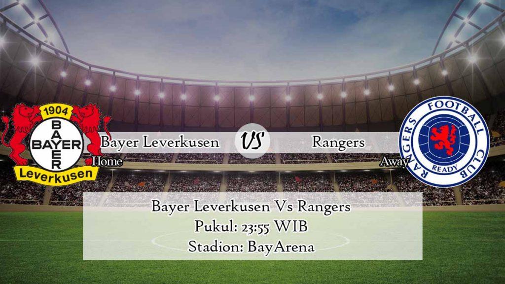Prediksi Bayer Leverkusen Vs Rangers 6 Agustus 2020