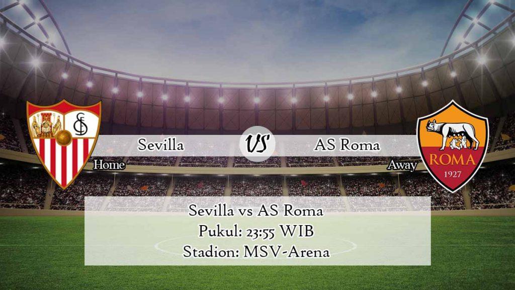Prediksi Bola Sevilla vs AS Roma 6 Juli 2020