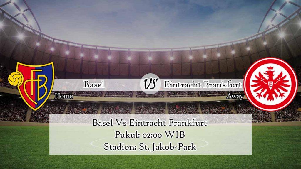 Prediksi Jitu Basel Vs Eintracht Frankfurt 7 Agustus 2020