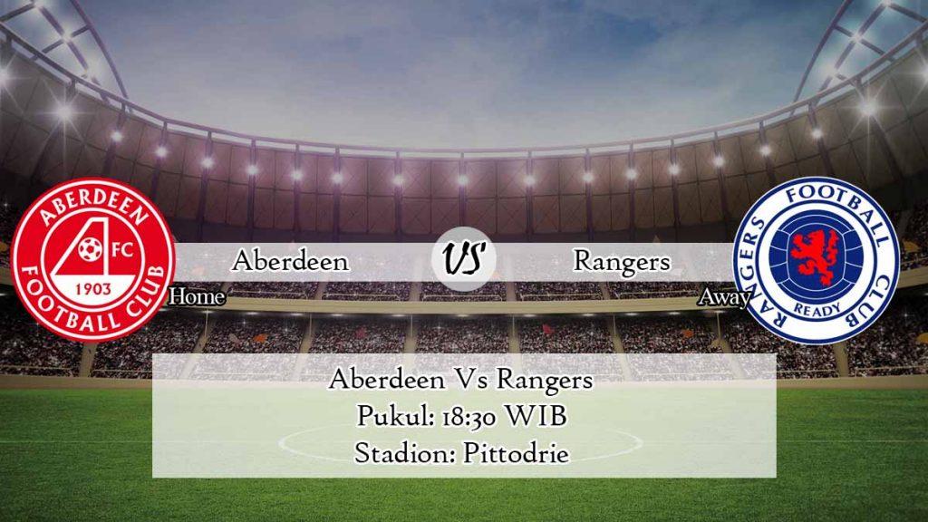 Prediksi Skor Aberdeen Vs Rangers 1 Agustus 2020