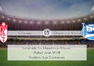 Prediksi Bola Granada Vs Deportivo Alaves 20 September 2020